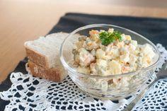 balta misraine, white salad.