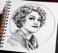 The Fantastic Beasts sketchbook- Queenie