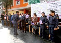 Milpa Alta entrega estímulos a la eficiencia policial