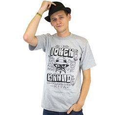 Joker Brand T-Shirt Roll Call heathergrey ★★★★★