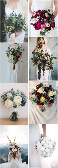 Wedding Ideas »    Bouquet » 22 Smoking Hot Winter Wedding Bouquets You Can't Resist
