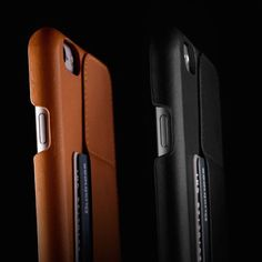 Crafted out of Mujjo's superior quality vegetable tanned leather, the Leather Wallet Case 80° for iPhone 6 Plus is what every iPhone lover would wish to ha
