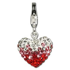 SilberDream Glitter Charm Swarowski Elements heart red ICE , 925 Sterling Silver Charms Pendant with Lobster Clasp for Charms Bracelet, Necklace or Earring GSC002 SilberDream Crystal http://www.amazon.com/dp/B005FW65J8/ref=cm_sw_r_pi_dp_rc94ub09AK08Q