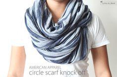 DIY: circle scarf