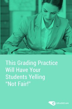 Students would definitely yell not fair if they knew teachers struggle with this while grading papers. Superhero Teacher, Grading Papers, Teaching Skills, Teacher Inspiration, Formative Assessment, Teacher Hacks, Stressed Out, School Fun, Educational Technology