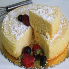 August 23 is...NATIONAL SPONGE CAKE DAY | What is sponge cake? Springy, full of holes? In a sense, yes. Sponge cake has a firm, yet well aerated structure, similar to a sea sponge. It is a cake based on flour, sugar and eggs. There are some occasions when it is leavened with baking powder. Traditionally, there is no addition of cooking oil, shortening or butter.