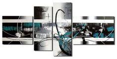 Resultado de imagen para cuadros modernos blanco y negro