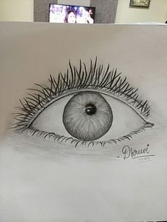 Sketch of eye made by me😇