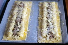 Enkel wienerstang Cheesesteak, Food And Drink, Ethnic Recipes, Mad, Danish Cake, Bakken, Recipes