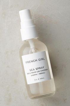 Shop French Girl Organics haircare at Anthropologie. Korean Beauty Tips, Daily Beauty Tips, Beauty Hacks, Sea Spray, Clean Beauty, Natural Beauty, Organic Beauty, Beauty Shop, Skin Care Regimen