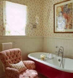 Vintage Farmhouse: Farmhouse Bathroom love this