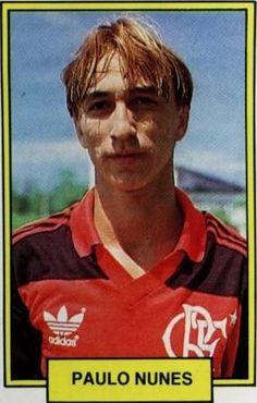 Paulo Nunes na época de Flamengo