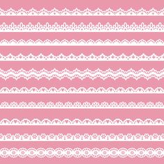 Lace Border Clip Art Scrapbook Clipart Pack By YarkoDesign 369