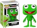 It's easy being green when you're as cool as Kermit the Frog! This Muppets Kermit the Frog Pop! Vinyl figure stands tall and comes in a stylized artful display box. Funk Pop, Disney Pop, Figurine Disney, Pop Figurine, Pop Vinyl Figures, Vinyl Diy, Geeks, Muppets Most Wanted, Funko Pop Dolls