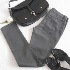 """Habitual Obelisk Straight Leg Jeans Graphite color.  Size 29.  Measures about 16"""" across the waistband, 8"""" front rise, 33"""" inseam and 12"""" leg opening.  70% cotton 30% elasterell.  No trades. Habitual Jeans Straight Leg"""