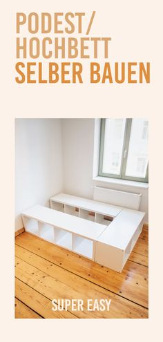 Great ikea hacks Ideas & Designs You can get a large living room with small room deco Ikea Hack Bench, Ikea Closet Hack, Ikea Hack Storage, Ikea Hack Kids, Mezzanine Design, Build A Loft Bed, High Beds, Bedroom Storage, Ikea Bedroom
