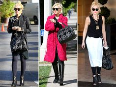 "L.A.M.B. BAG  One of the perks of being a designer is that you get early access to the pieces! Gwen Stefani totes her Fall/Winter 2012 ""Tolman"" houndstooth bowler with her sweet spring outfits."