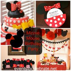 Minnie Mouse Birthday Party - eventstocelebrate.net