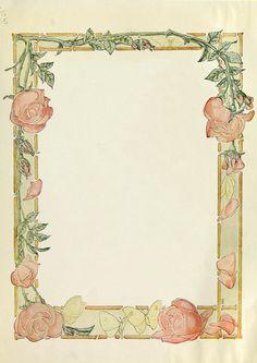 Wings of Whimsy: American Beauties Stationery #vintage #ephemera #printable #freebie #stationery