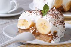 Tarta de Plátano con Caramelo.