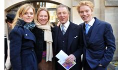 Edward Fox  with his 3 daughters:   actress, Emilia Fox,                                                Lucy (Viscountess Gormanston) and  Freddie, his youngest daughter who is also an actress.
