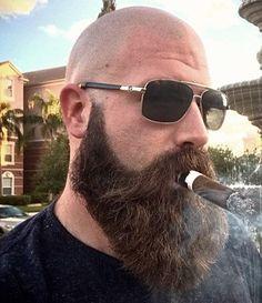 Bald Heads - Hairl Loss Tips Bad Beards, Bald Men With Beards, Bald With Beard, Great Beards, Long Beards, Awesome Beards, Long Beard Styles, Hair And Beard Styles, Tapered Beard