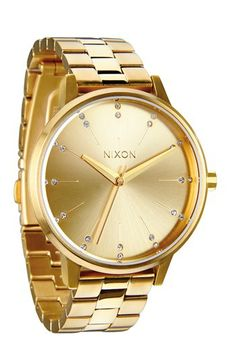 Nixon 'Kensington' Crystal Bracelet Watch, 37mm available at #Nordstrom