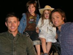 Jensen and Jared with Adrian and Sarah Boey
