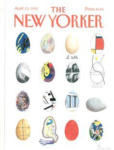 Art New Yorker cover