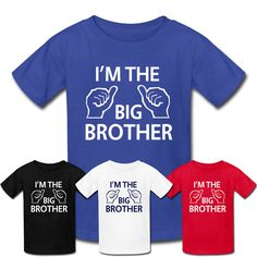 6ceee0c86 BIG BROTHER SHIRTS TShirt Design for Toddler and by CoolTeeShirts, $13.99 Big  Brother Gifts,