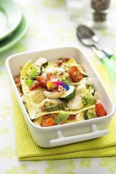 Lasagne estive con verdure | Cucinare Meglio
