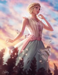 """""""When I used to read fairy-tales, I fancied that kind of thing never happened, and now here I am in the middle of one!"""""""