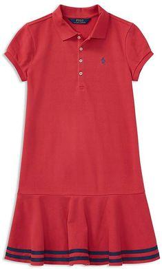 4f33d3cf2b Girls  Polo Dress - Big Kid  waist Drop chest