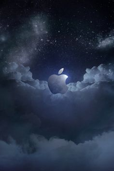 Wallpaper for iPhone Apple Dark Sky