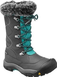 Totally toasty and way waterproof – the Kelsey Boot WP is made for snow days. Weather is sealed out by its waterproof, breathable membrane and waterproof leather upper.   Kelsey Boot WP for Big Kid   KEEN Footwear
