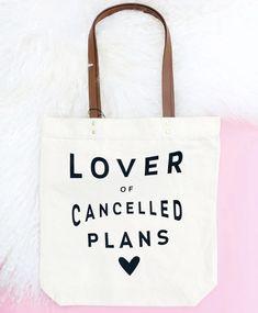 Shopper or Sling Cotton BagSize choice Tote I Love Brighton