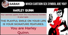 Which Cartoon Sex Symbol are you?
