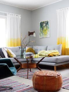 Keltainen kahvipannu Vintage Country, Retro Vintage, Places, Interior, Happy, Home, Decor, Decoration, Indoor