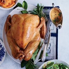 From classic roasted turkey with giblet gravy to a spectacular pancetta-wrapped turkey, here are the best Thanksgiving turkey recipes. Classic Thanksgiving Turkey Recipe, Simple Roast Turkey Recipe, Roast Turkey Recipes, Thanksgiving Recipes, Thanksgiving Blessings, Stuffing Recipes, Thanksgiving Feast, Chicken Recipes, Wine Recipes