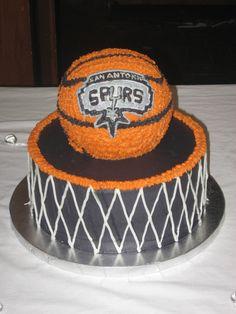 Fabulous 29 Best Spurs Cake Images Spurs Cake Cake San Antonio Spurs Birthday Cards Printable Trancafe Filternl
