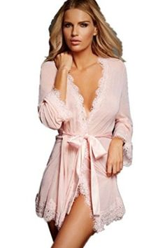 Sexy Satin Night Gown For Women Hot Sale High Quality Pink Satin Night  Ladies Sleepwear women sexy pajamas bath robes cf629b629