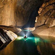 Hang Soon Doong cave in Vietman