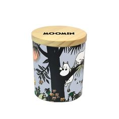 Jungle Moomin scented candle - Suomen Kerta - The Official Moomin Shop Moomin Shop, Burning Candle, Scented Candles, My Room, Tropical, Things To Come, Ceramics, Make It Yourself, Sweet