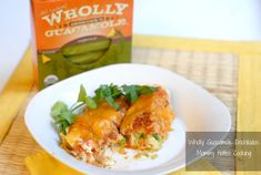 Wholly Guacamole Enchiladas (Make with homemade guac)
