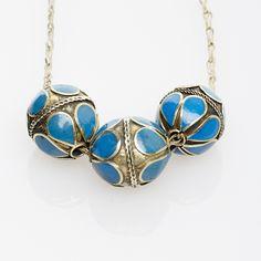 Lido World - Triple Strand Silver Bead Necklace , $70.00 (http://www.lidoworld.com/triple-strand-silver-bead-necklace/)