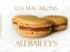 macarons au Bailey's