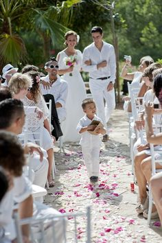 all-white Ibiza wedding