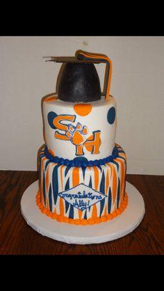 My shsu graduation cake!!