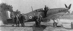 Hawker Hurricane Mk.I, YB-W, 17 Squadron, Debden Essex, 1940