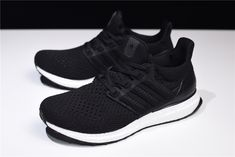 a0a10ea88 New adidas Ultra Boost UB4.0 Hollow Black White BY6166